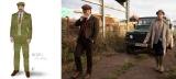 ミッキー(マシュー・マコノヒー)=映画『ジェントルメン』(5月7日公開)衣装スケッチ(Courtesy of Michael Wilkinson)&場面写真 (C)2020 Coach Films UK Ltd. All Rights Reserved.