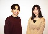 テレビアニメ『86−エイティシックス−』に出演中の(左から)千葉翔也、長谷川育美 (C)ORICON NewS inc.