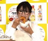 『タカラ レシピコンテスト2021』の記者発表会に参加したギャル曽根 (C)ORICON NewS inc.