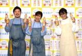 『タカラ レシピコンテスト2021』の記者発表会に参加した(左から)ぐっち夫婦、ギャル曽根 (C)ORICON NewS inc.