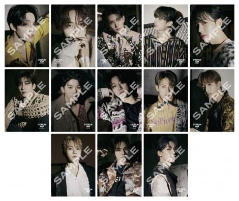 SEVENTEENの日本3rdシングル「ひとりじゃない」特典A5クリアファイル(UMストア)
