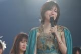 SKE48卒業コンサートで涙ながらにスピーチする松井珠理奈(11日、日本ガイシホール)(C)2021 Zest,Inc. / AEI