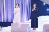 斉藤由貴デビュー曲「卒業」をデュエット(左から)生田絵梨花、斉藤由貴(C)NHK