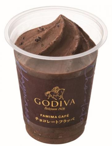 新たに発売される「チョコレートフラッペ」