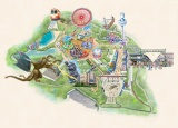『西武園ゆうえんち』園内MAP