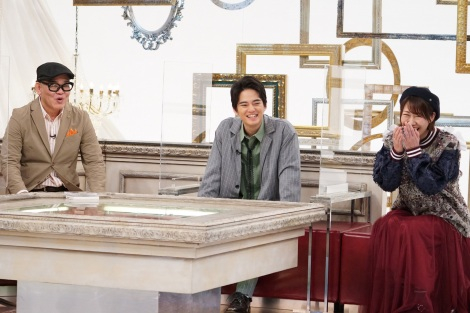 『ピーコ&兵動のピーチケパーチケ』が10周年(左から)兵動大樹、中山優馬、桜 稲垣早希