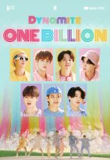 BTS 「Dynamite」のミュージックビデオ、が10億再生を突破 photo by Big Hit MUSIC