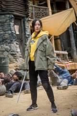 ヨニ(アン・ジへ)=韓国映画『スレイト』6月25日より公開 (C)2020 CONTENTS VILLAGE and MCMC
