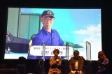 『GUNDAM TOPICS 2021』にモニターで登場した富野由悠季 (C)ORICON NewS inc.