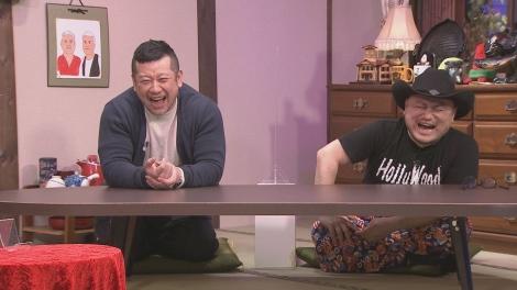 16日放送HBC『ジンギス談!』に出演するケンドーコバヤシ(左)、ハリウッドザコシショウ(C)HBC