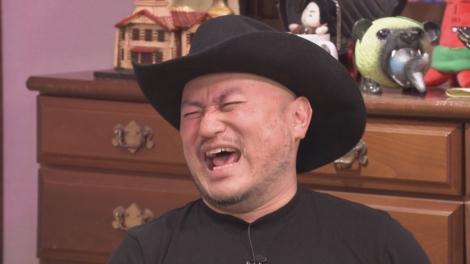 16日放送HBC『ジンギス談!』に出演するハリウッドザコシショウ(C)HBC