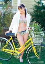 『週刊ヤングマガジン』20号の表紙を飾った福田ルミカ