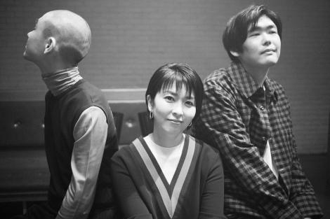 『大豆田とわ子と三人の元夫』主題歌を歌う松たか子、STUTS(右)、KID FRESINO(左)
