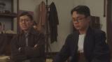 須賀廼家万太郎一座にいた左が須賀廼家万歳(藤山扇治郎)、右が須賀廼家千兵衛(竹本真之)=連続テレビ小説『おちょやん』第19週・第93回より (C)NHK