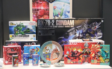 『日本キャラクター大賞2021』選定委員特別賞を受賞した「機動戦士ガンダムシリーズ」(C)ORICON NewS inc.