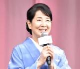 映画『いのちの停車場』完成披露試写会に登壇した吉永小百合 (C)ORICON NewS inc.