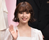 映画『いのちの停車場』完成披露試写会に登壇した広瀬すず (C)ORICON NewS inc.