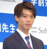 ソフトバンクの新サービス発表会見に出席した竹内涼真 (C)ORICON NewS inc.