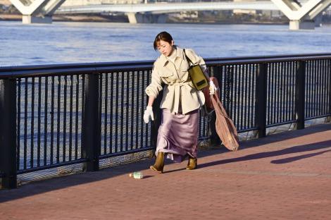 新水曜ドラマ『恋はDeepに』に出演する石原さとみ(C)日本テレビ