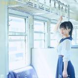 つばめ選抜センターの田中美久=HKT48 14thシングル「君とどこかへ行きたい」劇場盤Type-Aジャケット写真(C)Mercury