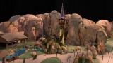東京ディズニーシー新テーマポート「ファンタジースプリングス」より『塔の上のラプンツェル』エリアのイメージ模型(C)Disney