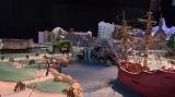 東京ディズニーシー新テーマポート「ファンタジースプリングス」より『ピーター・パン』エリアのイメージ模型(C)Disney
