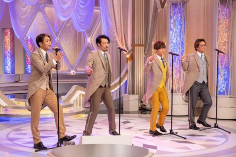 純烈=『はやウタ』総合で4月18日放送(C)NHK