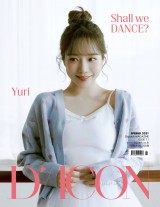 IZ*ONE 写真集『Shall We dance?』チョ・ユリver.表紙(C)Dispatch