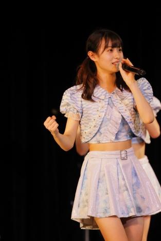 ハロプロ研修生・石山咲良=『ハロプロ研修生2021 初単独ライブ〜エピソードゼロ〜』より