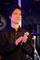 映画『ミラクルシティコザ』製作発表記者会見に出席した桐谷健太