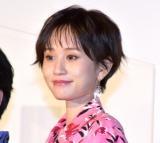 映画『くれなずめ』完成披露舞台あいさつに参加した前田敦子 (C)ORICON NewS inc.