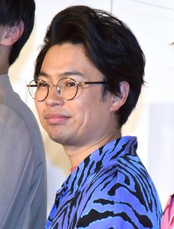 映画『くれなずめ』完成披露舞台あいさつに参加した浜野謙太 (C)ORICON NewS inc.