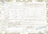 『ゼクシィ』6月号とじ込み付録「婚姻届け」
