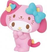 マイメロディ(フィギュア賞)=Happyくじ『Sanrio Animal Collection』※画像はイメージですので、実際の商品とは異なる場合があります。