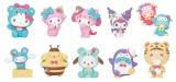 フィギュア賞(全10種)=Happyくじ『Sanrio Animal Collection』※画像はイメージですので、実際の商品とは異なる場合があります。