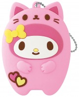 マイメロディ(シリコンポーチ賞)=Happyくじ『Sanrio Animal Collection』※画像はイメージですので、実際の商品とは異なる場合があります。