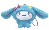 シナモロール(ぬいぐるみチャーム賞)=Happyくじ『Sanrio Animal Collection』※画像はイメージですので、実際の商品とは異なる場合があります。