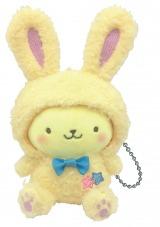 ポムポムプリン (ぬいぐるみチャーム賞)=Happyくじ『Sanrio Animal Collection』※画像はイメージですので、実際の商品とは異なる場合があります。
