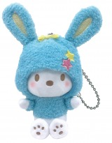 ポチャッコ(ぬいぐるみチャーム賞)=Happyくじ『Sanrio Animal Collection』※画像はイメージですので、実際の商品とは異なる場合があります。