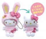 ぬいぐるみチャーム賞=Happyくじ『Sanrio Animal Collection』※画像はイメージですので、実際の商品とは異なる場合があります。