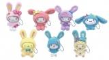 ぬいぐるみチャーム賞(全7種)=Happyくじ『Sanrio Animal Collection』※画像はイメージですので、実際の商品とは異なる場合があります。