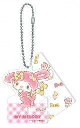 マイメロディ(アクリルスマホスタンドキーホルダー賞)=Happyくじ『Sanrio Animal Collection』※画像はイメージですので、実際の商品とは異なる場合があります。