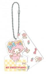 マイスウィートピアノ(アクリルスマホスタンドキーホルダー賞)=Happyくじ『Sanrio Animal Collection』※画像はイメージですので、実際の商品とは異なる場合があります。