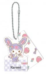 クロミ(アクリルスマホスタンドキーホルダー賞)=Happyくじ『Sanrio Animal Collection』※画像はイメージですので、実際の商品とは異なる場合があります。