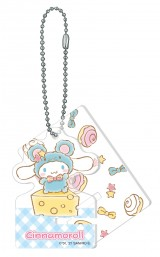 シナモロール(アクリルスマホスタンドキーホルダー賞)=Happyくじ『Sanrio Animal Collection』※画像はイメージですので、実際の商品とは異なる場合があります。