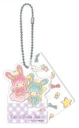 リトルツインスターズ(アクリルスマホスタンドキーホルダー賞)=Happyくじ『Sanrio Animal Collection』※画像はイメージですので、実際の商品とは異なる場合があります。