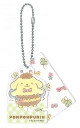ポムポムプリン(アクリルスマホスタンドキーホルダー賞)=Happyくじ『Sanrio Animal Collection』※画像はイメージですので、実際の商品とは異なる場合があります。