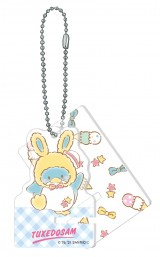 タキシードサム(アクリルスマホスタンドキーホルダー賞)=Happyくじ『Sanrio Animal Collection』※画像はイメージですので、実際の商品とは異なる場合があります。