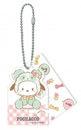 ポチャッコ(アクリルスマホスタンドキーホルダー賞)=Happyくじ『Sanrio Animal Collection』※画像はイメージですので、実際の商品とは異なる場合があります。