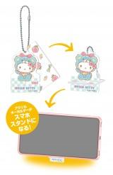 アクリルスマホスタンドキーホルダー賞(全10種)=Happyくじ『Sanrio Animal Collection』※画像はイメージですので、実際の商品とは異なる場合があります。